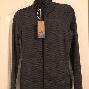 prAna Size XS Full Zip Womens Randa Black Diamond